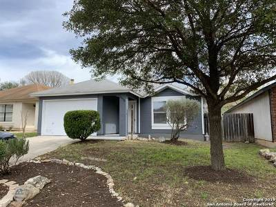 San Antonio Single Family Home New: 16438 Blanco Key