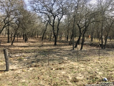 San Antonio Residential Lots & Land New: 23702 Blackjack Bend
