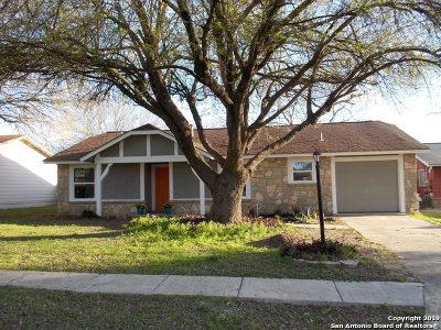 San Antonio Single Family Home New: 6814 Blue Lake Dr