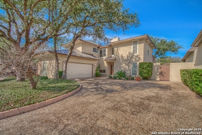 San Antonio Single Family Home New: 13711 Bluff Villas Ct