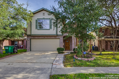 San Antonio Single Family Home New: 14814 Academy Oak