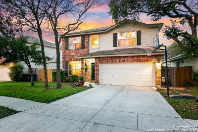 San Antonio Single Family Home New: 17050 Ashbury Lodge