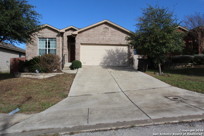San Antonio Single Family Home New: 7903 Liberty Island