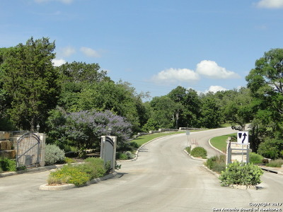 Boerne Residential Lots & Land New: 124 Balcones Bnd