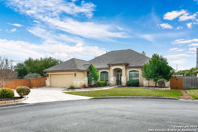Helotes Single Family Home For Sale: 9502 Creek Cove