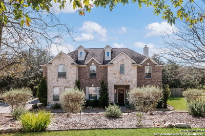 Boerne Single Family Home New: 8610 Monument Oak