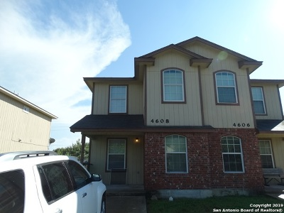 San Antonio Multi Family Home New: 4606 Swann Ln