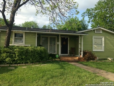 Bexar County Single Family Home New: 2727 W Woodlawn Ave