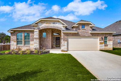 Boerne TX Single Family Home New: $345,822