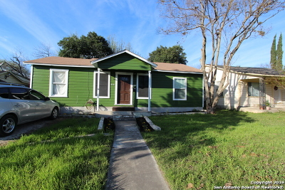 San Antonio TX Single Family Home New: $119,900
