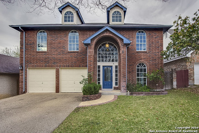 San Antonio Single Family Home New: 1118 Hedgestone Dr