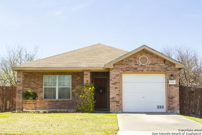 San Antonio Single Family Home New: 8703 Shaenwest