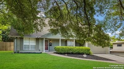 San Antonio Single Family Home New: 3206 Albin Dr