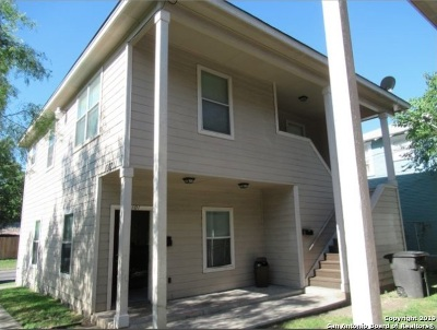 San Antonio Multi Family Home New: 1707 Dawson St