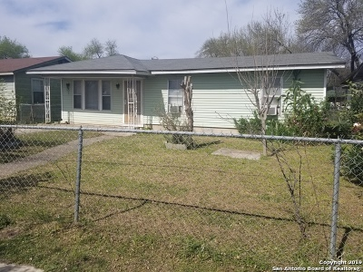 San Antonio Single Family Home New: 3915 Eldridge Ave
