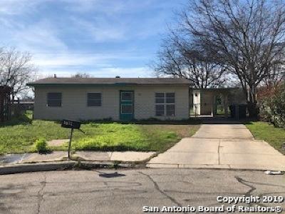 San Antonio Single Family Home New: 3022 Cumbre Dr