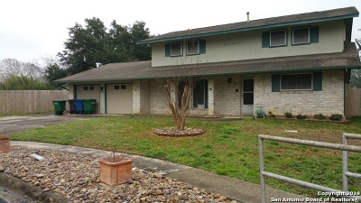 San Antonio Single Family Home Active Option: 5227 La Barranca St