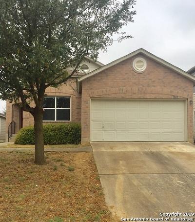 San Antonio Single Family Home New: 1515 Ambush Creek