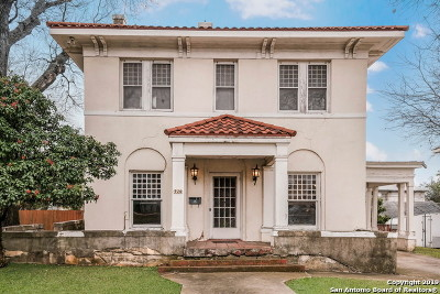 San Antonio Single Family Home New: 920 W Mistletoe Ave