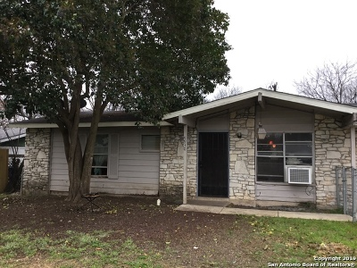 Jbsa Ft Sam Houston Single Family Home New: 4930 Fridell St