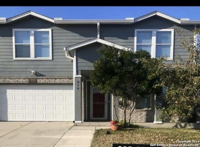 Cibolo Single Family Home New: 216 Gatewood Fls