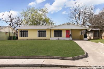 San Antonio Single Family Home New: 1105 Upland Rd