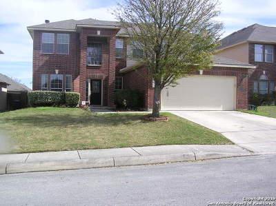 San Antonio Single Family Home Active Option: 12114 Wellstone Run