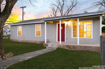 Universal City Single Family Home New: 702 Bowie