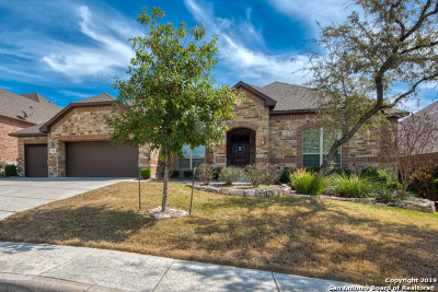 Helotes Single Family Home Price Change: 17006 Sunridge Pt