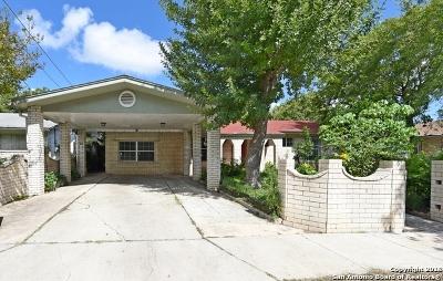 San Antonio Single Family Home New: 1523 Betty St