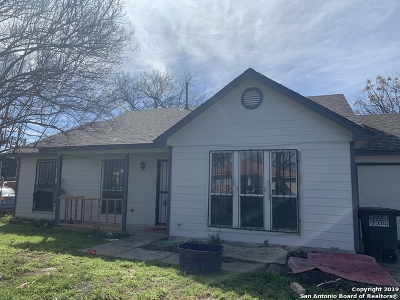 San Antonio TX Single Family Home New: $130,000