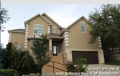 San Antonio Single Family Home New: 1381 Desert Links