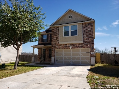 San Antonio Single Family Home New: 1230 Ranchland Plains