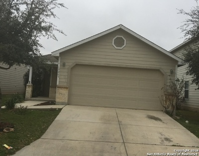 San Antonio Single Family Home New: 9247 Silver Vista