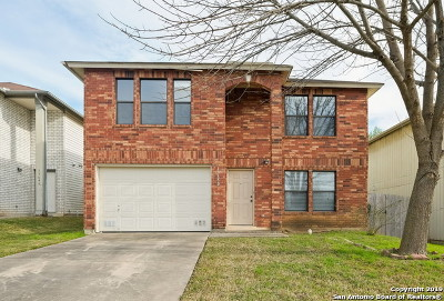 San Antonio Single Family Home New: 13650 Escort Dr