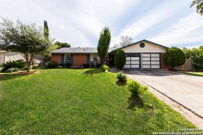 San Antonio Single Family Home New: 5410 Castle Way