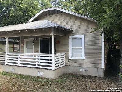 San Antonio Single Family Home New: 459 Blue Bonnet St