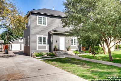 Alamo Heights Single Family Home Price Change: 205 College Blvd