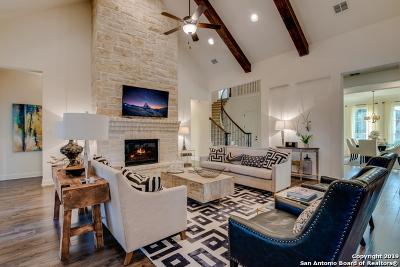 San Antonio Single Family Home New: 17423 Hillsedge