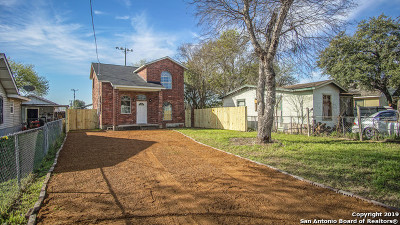 San Antonio Single Family Home New: 1160 Fitch St