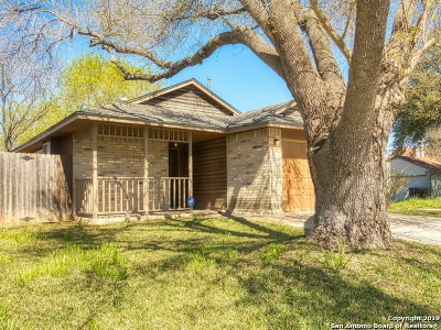 San Antonio Single Family Home New: 11303 Cache Path