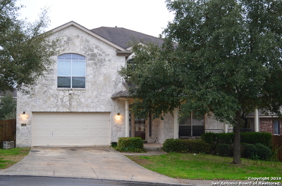 San Antonio Single Family Home New: 410 Concho Stream