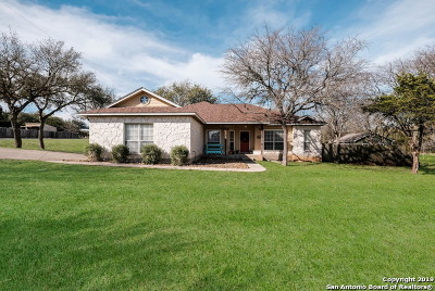 San Antonio Single Family Home New: 503 Deer Cross Ln