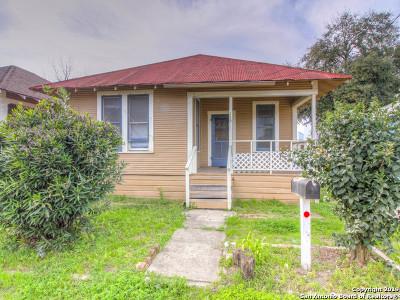 San Antonio Single Family Home New: 115 Peters Ct