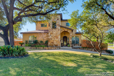 Terrell Hills Single Family Home Price Change: 100 Charles Rd