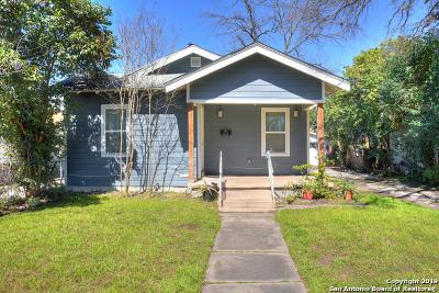 San Antonio Single Family Home New: 823 W Rosewood Ave