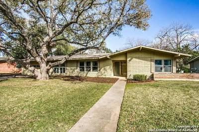 San Antonio Single Family Home New: 407 Cave Ln