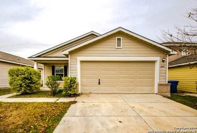 San Antonio Single Family Home New: 8807 Mission Brook