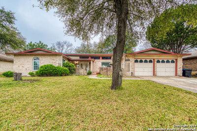 San Antonio Single Family Home New: 14310 Parkhurst St