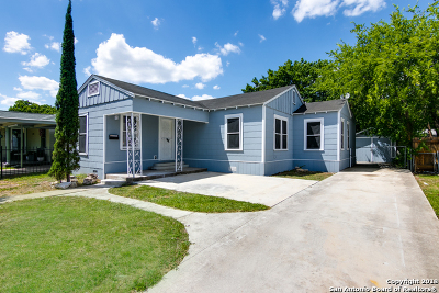 San Antonio Single Family Home New: 419 W Norwood Ct